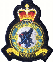 No. LXX (70) Squadron Royal Air Force RAF Crest MOD Embroidered Patch
